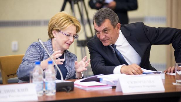 Вероника Скворцова и Сергей Меняйло.