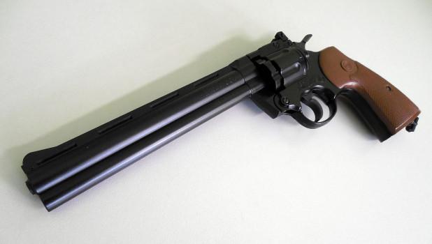 Пневматический пистолет.