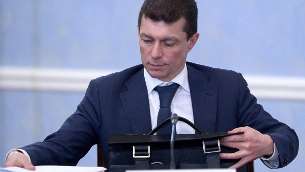 Глава Минтруда Максим Топилин.