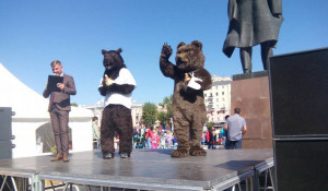 Медведи в Барнауле.