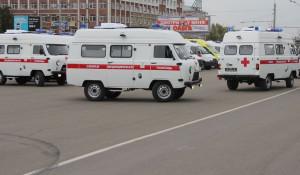 В Алтайский край поступили новые автомобили скорой помощи