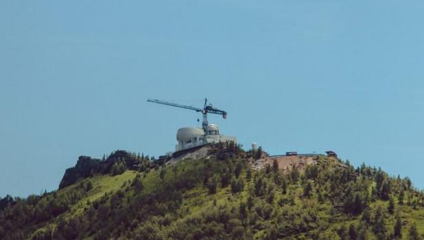 Телескоп в Змеиногорском районе.
