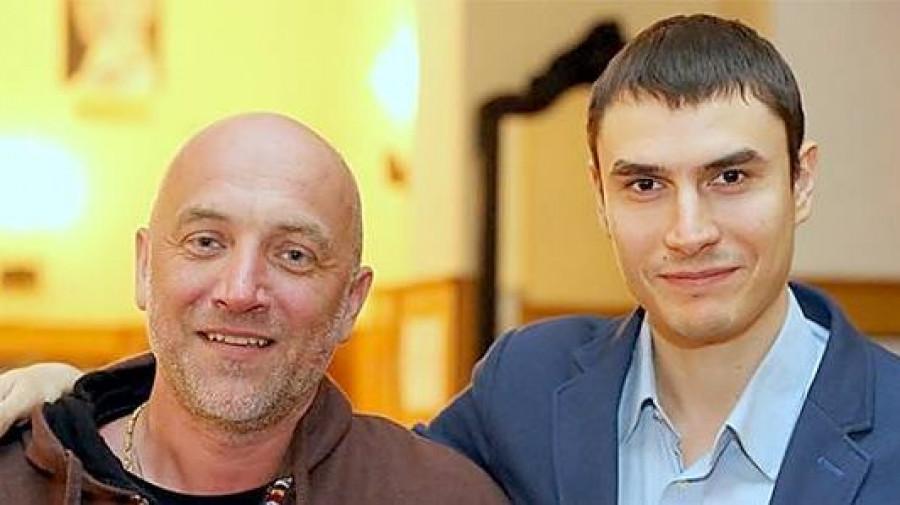 Захар Прилепин и Сергей Шаргунов.