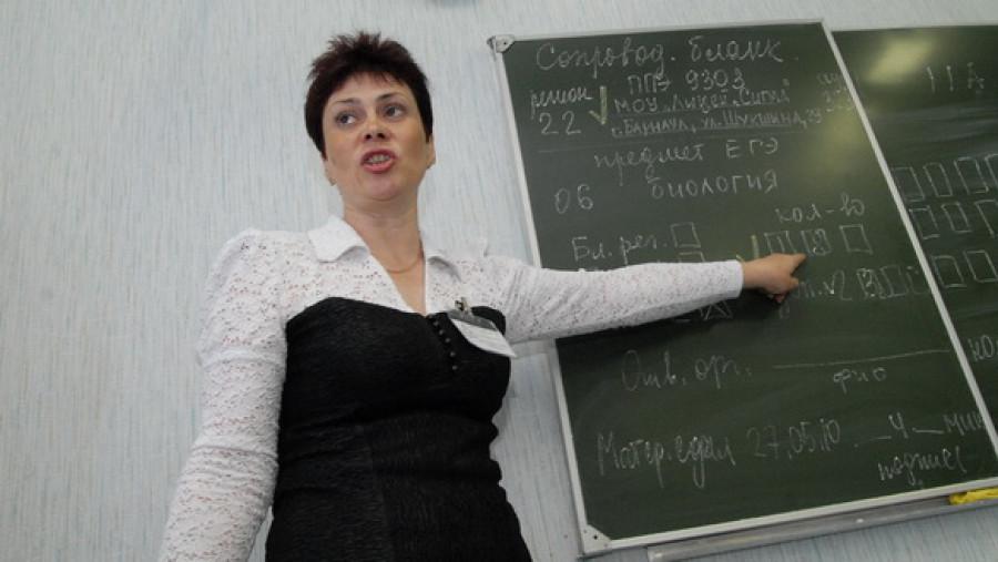 Выпускники барнаульских школ сдают ЕГЭ по русскому языку. 31 мая 2010г.
