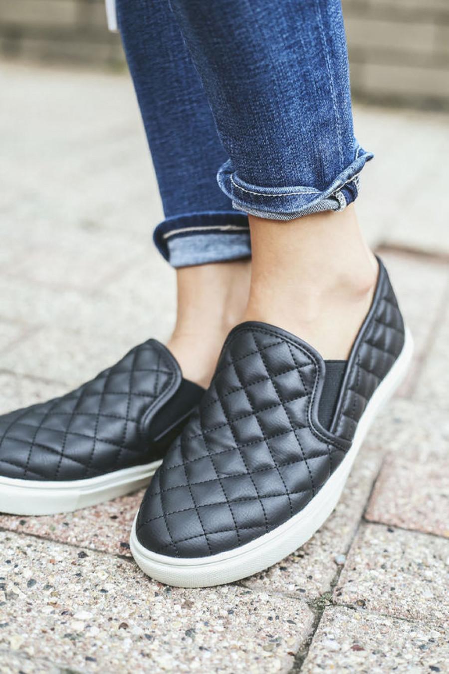 Стеганая обувь.