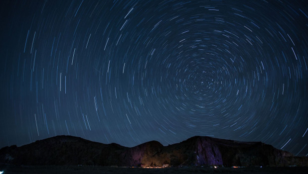 Звездное небо.