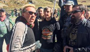 Гарик Сукачев встретился с байкерами.