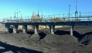 Уголь на Южной тепловой станции в Рубцовске