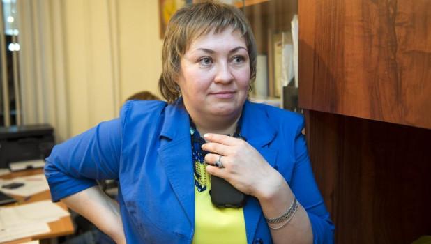 Евгения Боровикова в штабе ЛДПР. Выборы в АКЗС и Госдуму. Барнаул, 18-19 сентября 2016 года.
