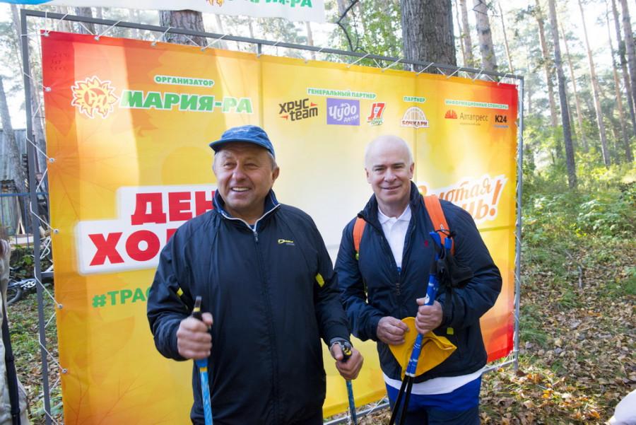 Александр Ракшин и Нил Старрок.