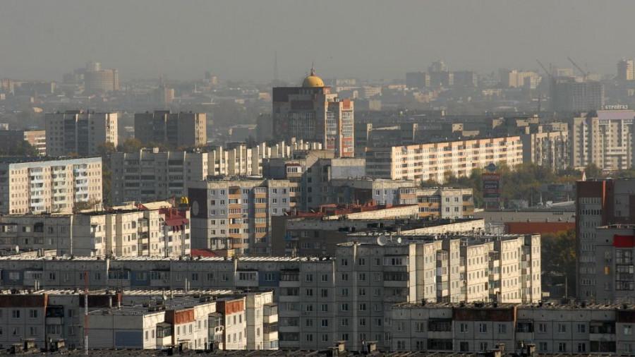 Новостройки Барнаула.