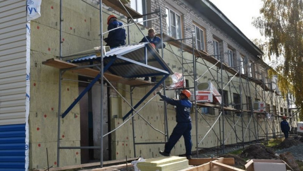 Капремонт домов в Заринске.