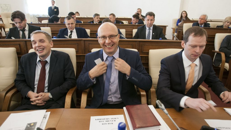 Александр Молотов, Владислав Вакаев, Павел Шумихин.