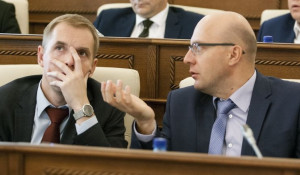 Александр Молотов и Владислав Вакаев.