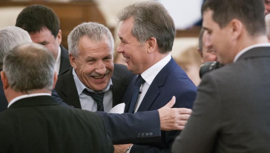 Валерий Гуминский и Александр Романенко.