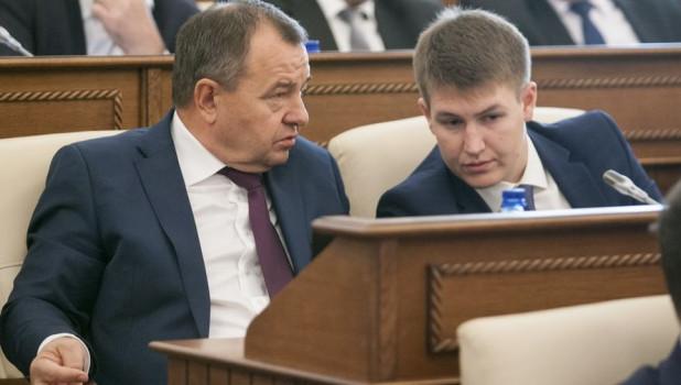 Борис Трофимов и Денис Голобородько.