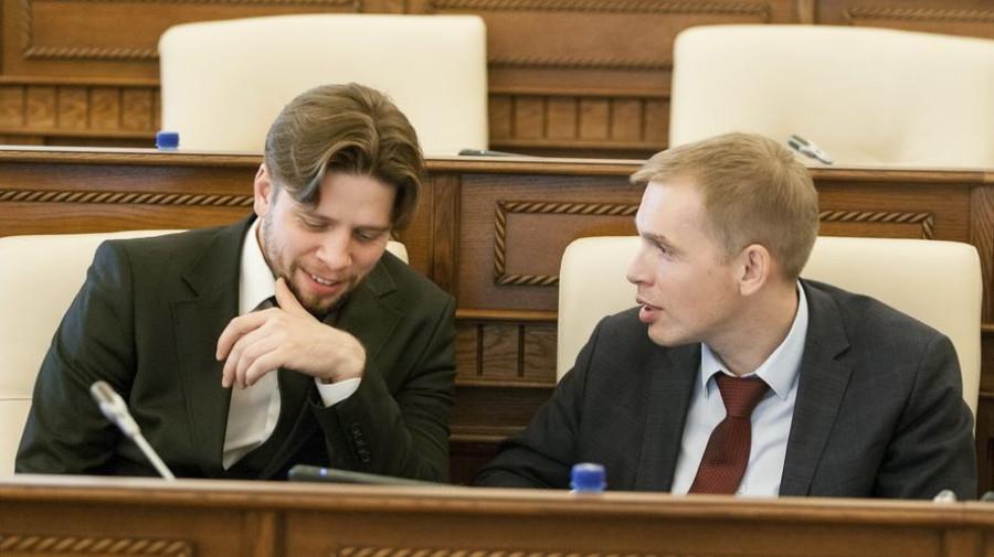 Александр Николайчик и Александр Молотов.