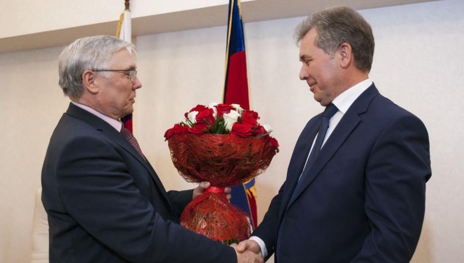 Александр Лазарев и Александр Романенко.