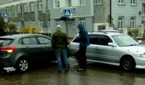 ДТП на Петра Сухова.