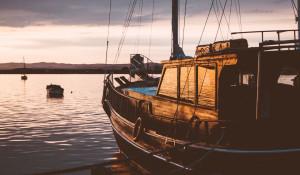 Яхта.