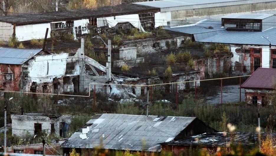 Барнаульский сереброплавильный завод. Октябрь 2016 года.