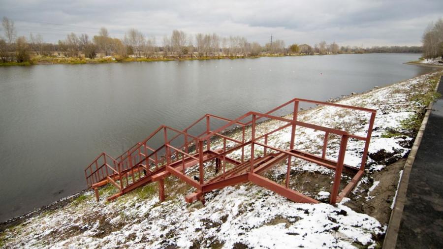 Открытие гребного канала в Барнауле.