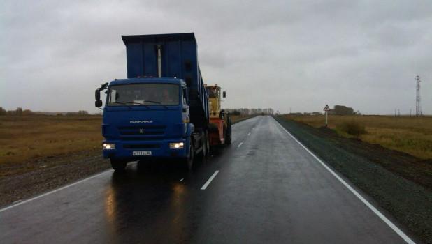 """Трасса """"Павловск — Ребриха — Буканское"""", после ремонта."""