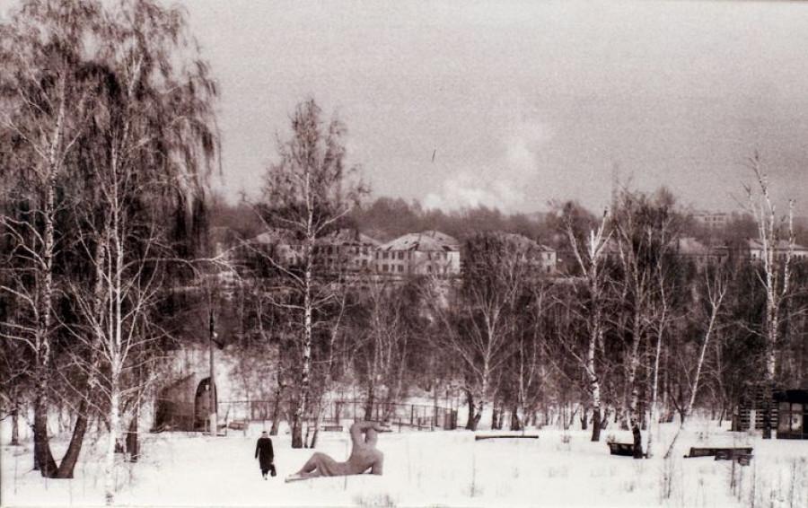 Парк Юбилейный. 1980-ые годы.