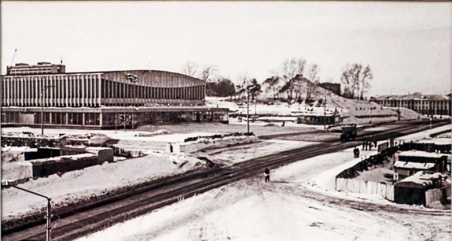 Площадь Сахарова. 1971 год.