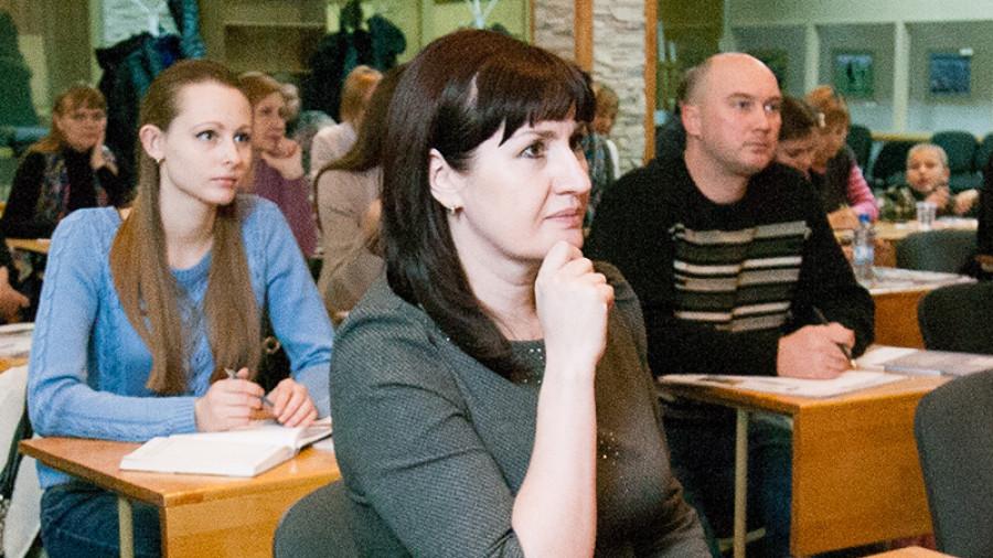 """Ирина Орлова, управляющий операционным офисом банка """"Открытие"""" в Барнауле."""