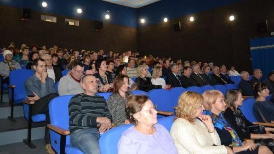 Открытие 3D-кинозала в Поспелихе.