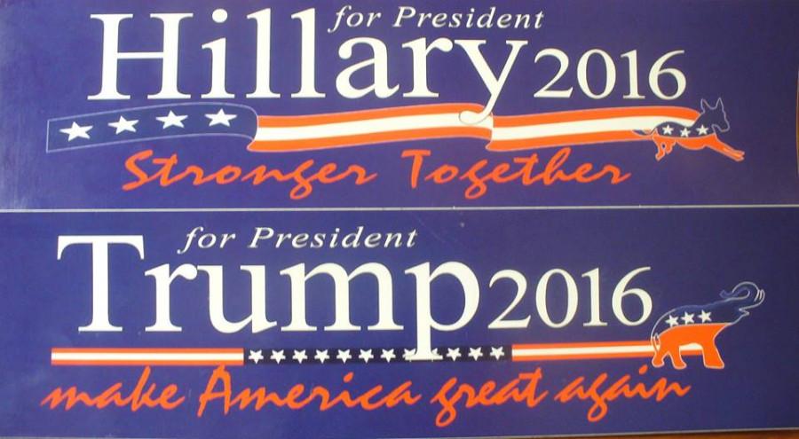 Выборы президента США, ноябрь 2016 года.