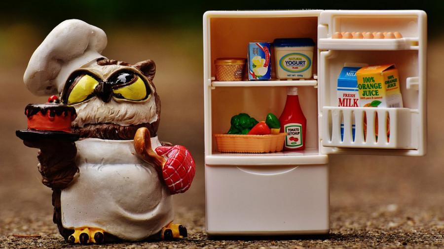 Холодильник. Продукты.