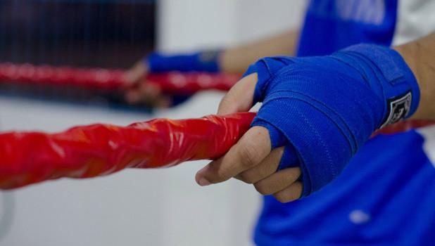 Бокс. Тренировка. Спорт.