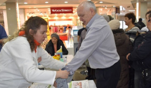 В день борьбы с диабетом в Барнауле провели масштабную акцию