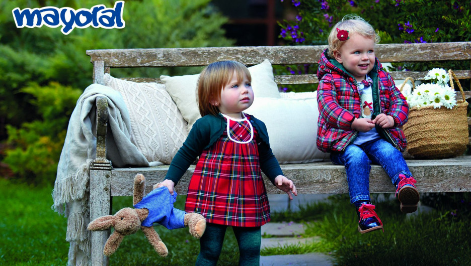 Детская одежда из Испании.