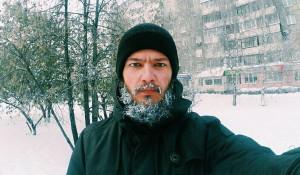 Мороз, борода, селфи.