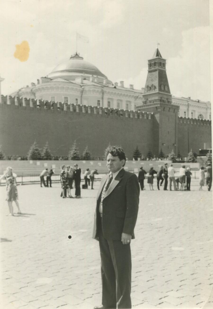 Михаил Мариупольский на учебе в Москве.