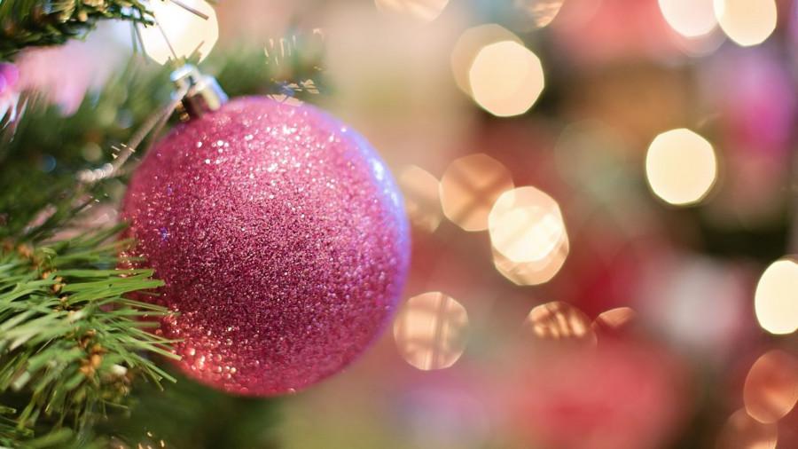 Новый год, елка, шар.
