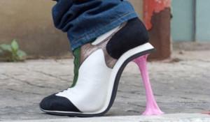 Обувь от сумасшедших модельеров.