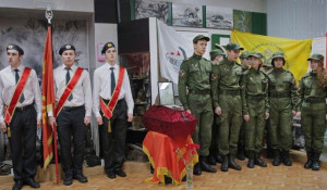 Передача останков Василия Ширшова. Протвино, 9 ноября 2016 года.