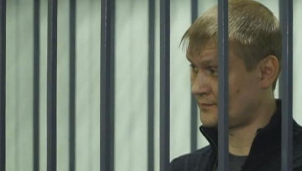 Максим Савинцев во время оглашения приговора.