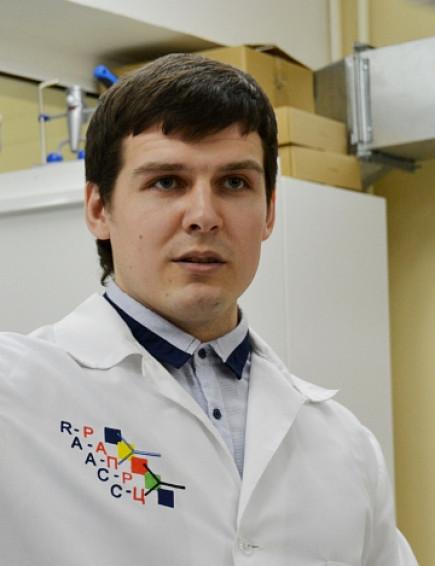 Степан Подлесных, аспирант АлтГУ.