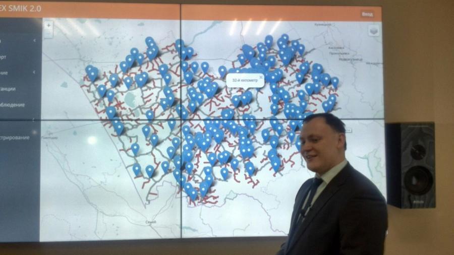 Николай Данилин демонстрирует новую систему