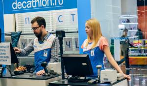 """Открытие магазина """"Декатлон"""" в Барнауле."""