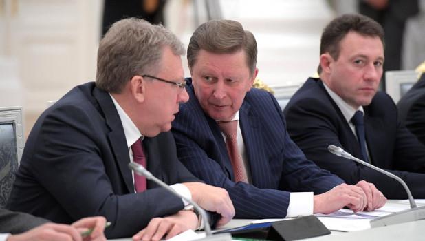 Алексей Кудрин и Сергей Иванов.