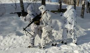 Тренировка бойцов Росгвардии в Алтайском крае.