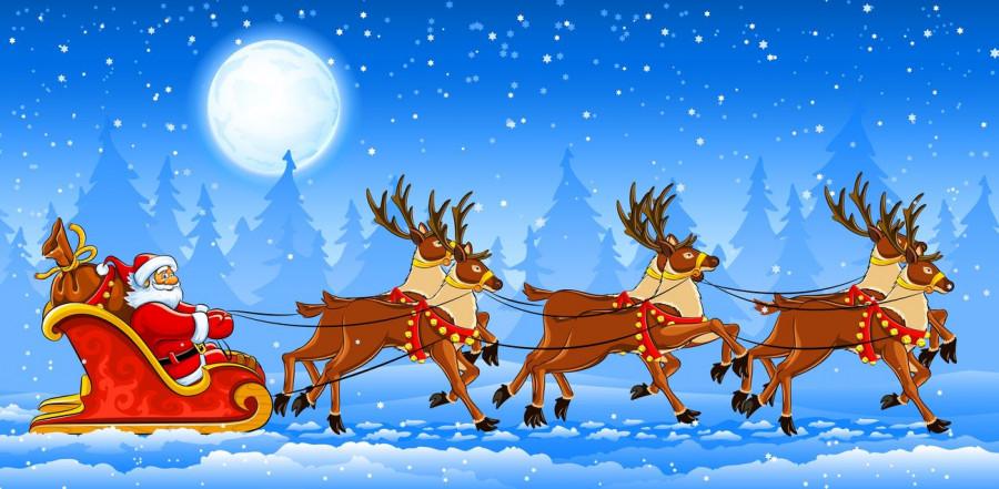 Доставка от Деда Мороза.