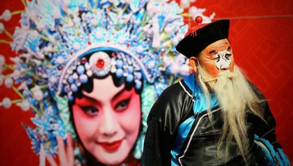 Дун Че Лао Рен или Шань Дань Лаожен - китайский Дед Мороз.