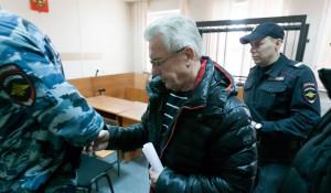 Юрий Денисов в суде.